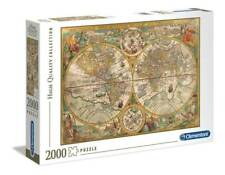 Puzzle 2000 Ancient Map Clementoni