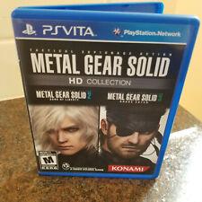 Metal Gear Solid HD Collection (Sony PlayStation Vita, 2012)