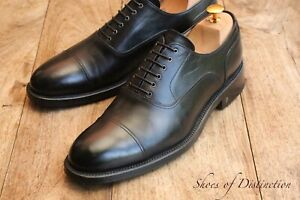 Men's Louis Vuitton Black Leather Oxford Lace Up Shoes  UK 8 US 9 EU 42