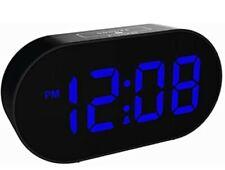 Plumeet [Updated Version] LED Alarm Clock - Digital Clocks with Adjustable and -