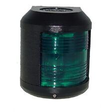 Aqua Signal Series 25 – Navigation Lights - Starboard Green - Black - SALE