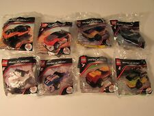 McDonald's 2009 Lego Racers Complete set of 8 Sealed