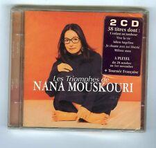 NANA MOUSKOURI 2 CDS SET  (NEW) LES TRIOMPHES  38 TITRES
