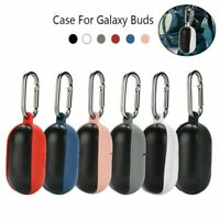 Silicone Earbuds Earphones Cover Case Skins & Carabiner for Samsung Galaxy Buds