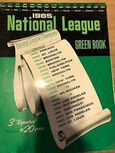 National League Green Book 1965