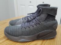 NIKE Zoom Men's 7.5 Wolf Grey Basketball Shoes