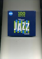 100 HITS - THE BEST JAZZ ALBUM - ART PEPPER CHET BAKER STAN GETZ - 5 CDS - NEW!!