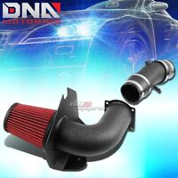 FOR GMT800 TRUCK//SUV 4.8//5.3//5.7//6.0 AIR INTAKE PIPE+HEAT SHIELD+GRAY FILTER
