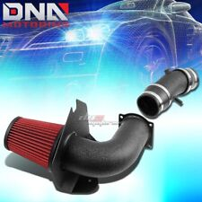 WRINKLE COATED ALUMINUM COLD AIR INTAKE+HEAT SHIELD FOR 94-95 MUSTANG GT/SVT 5.0