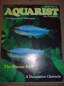 AQUARIST AND PONDKEEPER AUGUST 1982