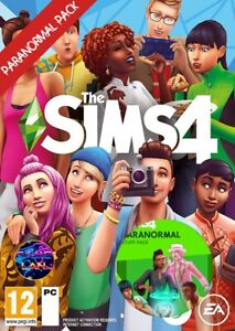 The Sims 4 and ALL EXPANSION, GAME AND STUFF PACKS + Paranormal pack