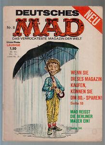 MAD Originalheft Nr. 8 ( 2 ) BSV Williams guter Zustand Serie ab 1967