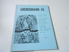 Weirdbook Fanzine Revistas ( sin Usar) Robert E Howard