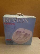 Revlon Revitaspa Premium Foot Spa New Open Box