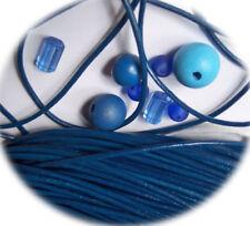 2 in Blau & Bänder zur Schmuckherstellung Drähte, Fäden mm