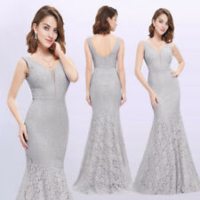 Ever-Pretty Long Lace Evening Formal Party Ball Gown Prom Bridesmaid Dress 08838