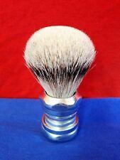 Silvertip shaving brush - Alfonse Industrial - Blaireau rasage artisanal - 26 mm