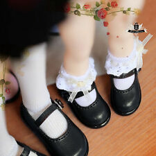 Yosd Shoes 1/6 BJD Shoes Dollfie DIM Lolita black student Shoes Luts DOD AOD MID