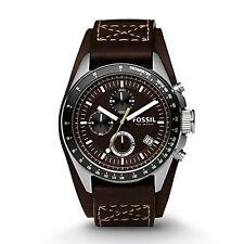Fossil 100 m (10 ATM) Sportliche Armbanduhren für Erwachsene