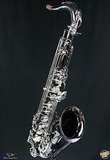 Selmer TS44 Tenor Saxophone w/ Case, Black NIckel, NEW! TS-44B TS44B #30030