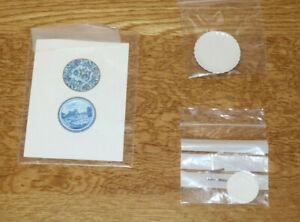 Dollshouse Miniature Plates, 3 packs