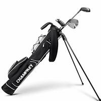 Champkey Lightweight Golf Stand Bag - Easy to Carry & Durable Pitch Golf Bag –