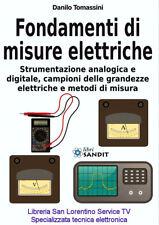 FONDAMENTI DI MISURE ELETTRICHE Libro elettronica Strumenti analogici digitali