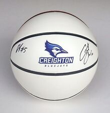 Creighton Grant Gibbs & Devin Brooks Signed Autographed Basketball Coa!