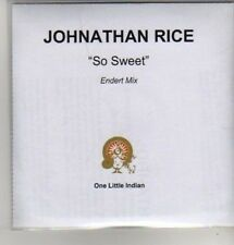 (AZ484) Johnathan Rice,  So Sweet - DJ CD