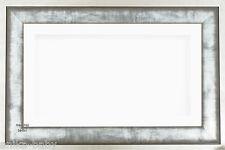 Grand 3D Urban boîte métallique affichage Cadre Blanc Fleur Médaille fonte Baby Keepsake