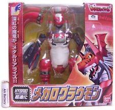 Bandai DIGIMON ex figura de acción híbrido WarGrowlmon MegaloGrowmon 2001 BANDAI