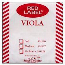15-16 Red Label Viola String MEDIUM SET
