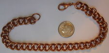 "8"" Bracelet/Anklets ~ Arthritis ~ Cc118 ~ 2 New Vintage Heavy 1 Oz+ Solid Copper"