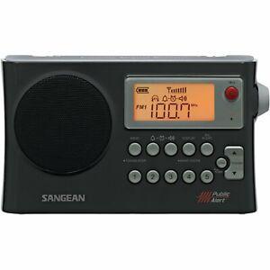 Sangean AM/FM/NOAA Weather Alert Portable Radio - PR-D4W