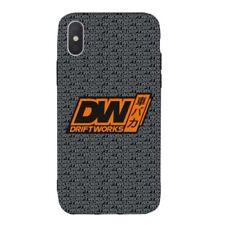 Driftworks Premium Rubber Black Phone Case - iPhone X/XS -
