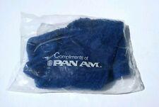 Vintage Pan Am Airways Blue Foot warmer Socks  Sealed Plastic bag Feet