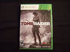 Replacement Case (NO GAME) TOMB RAIDER XBOX 360