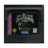 Mighty Morphin Power Rangers: The Movie For Sega Game Gear Vintage