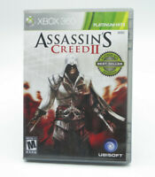 Assassin's Creed II 2 PLATINUM HITS (Microsoft Xbox 360) TESTED FREE SHIPPING