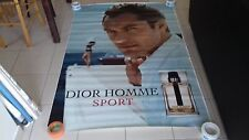 AFFICHE DIOR JUDE LAW 4x6 ft Bus Shelter Original Fashion Celebrity Poster