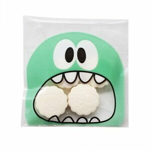 Candy Cookie Gift Bag Cute Party Need Storage Pouch Self-adhesive Bags 50/100pcs