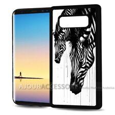 ( For Samsung Galaxy S10 ) Back Case Cover AJ10170 Zebra