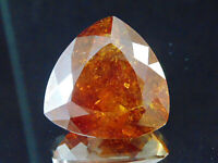 100% NATURAL 80.00CT SPHALERITE TRILLION CUT GEMSTONE! FREE SHIPPING! SUPER SIZE