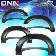 FOR 11-16 F250/F350-F550 SUPERDUTY FENDER WHEEL FLARES RIVET BLACK ABS PLASTIC