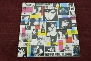 Siouxsie And The Banshees Once Upon A Time The Singles 1981 Pressing Punk