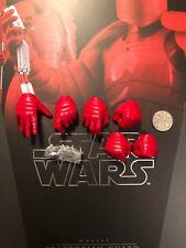 Hot Juguetes Star Wars Guardia pretoriana HB manos X 6 & Clavijas Suelto Escala 1/6th