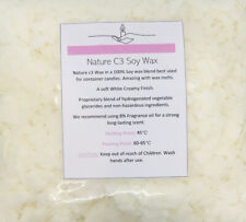 NEW SOY WAX FLAKES 100% PURE CLEAN BURNING NATURAL WAX ECO CANDLE MAKING 250-5KG