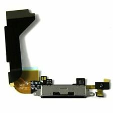For iPhone 4S Dock Connector Charging Port Replacement With Microphone Black