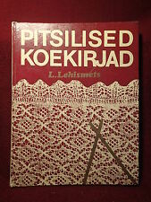 Knitting Lacemaking Vintage Hardcover Book 168 pages , mostly pictures Estonia