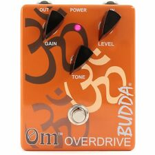 Budda OM Overdrive Guitar Effect Pedal +Picks